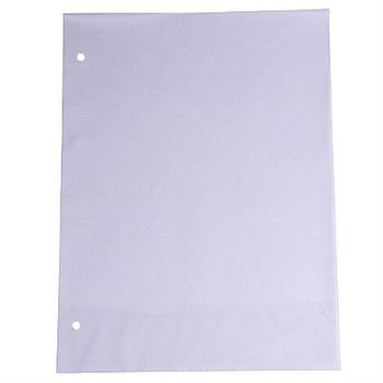 Envelope Plástico 1/2 Ofício 2 Furos para Pasta Catálogo Ref.92FU