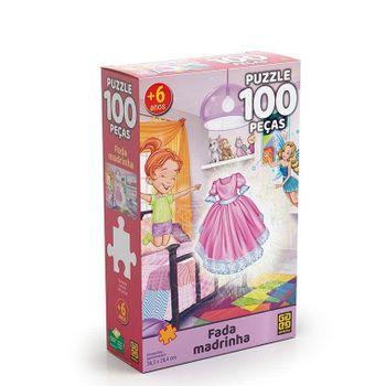 puzzle-100-pecas-fada-madrinha-14812454