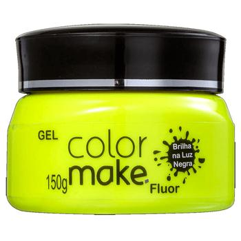Gel-ColorMake-Fluorescente-Amarelo-150g