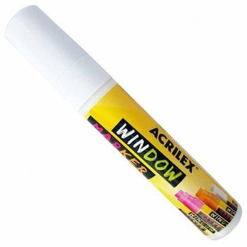 Caneta-Marcador-para-Vidro-Window-Marker-Branco-Acrilex-Ref-519