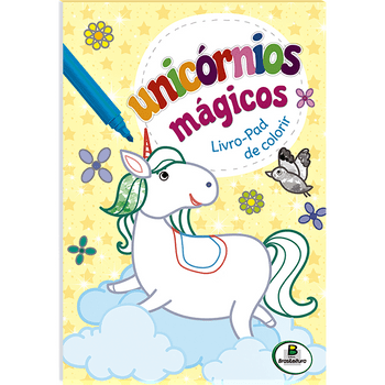 unicornios-magicos-livro-pad-de-colorir-amarelo-unicornios-magicos-l-9788537643358