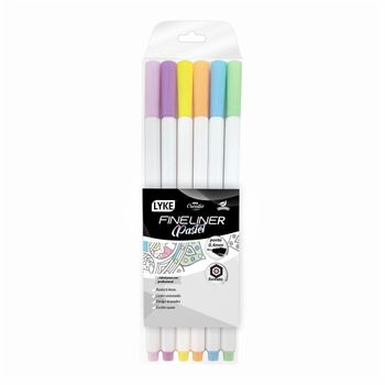 caneta-hidrografica-0-4mm-fineliner-blister-com-6-cores-like-lc101-305-d1042ed2